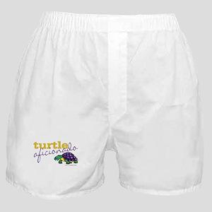 Turtle Aficionado Boxer Shorts