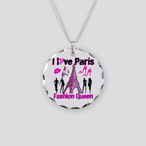 COUTURE QUEEN Necklace Circle Charm