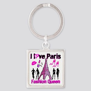 COUTURE QUEEN Square Keychain