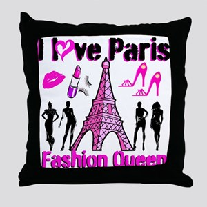 COUTURE QUEEN Throw Pillow
