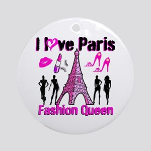 COUTURE QUEEN Ornament (Round)