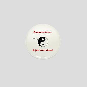 """""""Acupuncture"""" Mini Button"""
