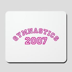 Gymnastics 2007 Mousepad