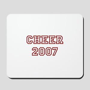 Cheer 2007 Mousepad