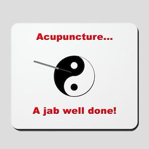 """Acupuncture"" Mousepad"