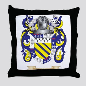 Paganini Coat of Arms (Family Crest) Throw Pillow