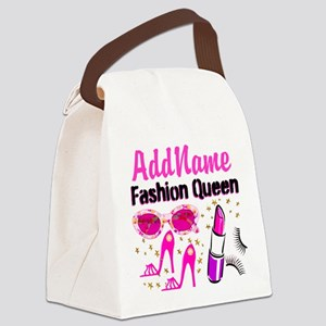 FASHION QUEEN Canvas Lunch Bag