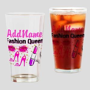 FASHION QUEEN Drinking Glass