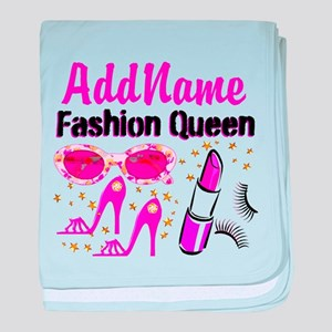 FASHION QUEEN baby blanket