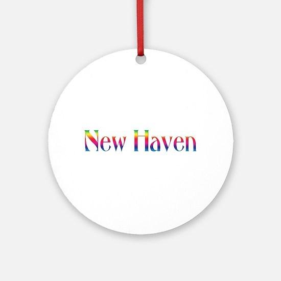 New Haven Ornament (Round)