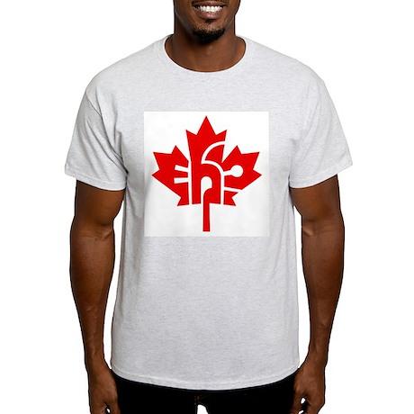 Canada Eh? Ash Grey T-Shirt