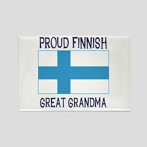 Finnish Great Grandma Rectangle Magnet