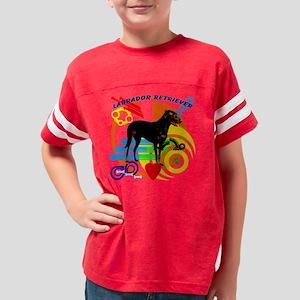 tshirt funky labrador Youth Football Shirt