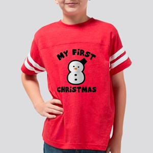 Snowman 1st Youth Football Shirt