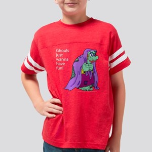 HHB-ghoulsfunTS1 Youth Football Shirt