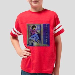Jack Gates Boulevard Painting Youth Football Shirt