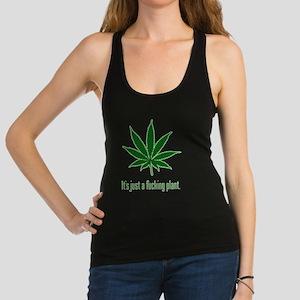 weed cannabis 420 t-shirt Racerback Tank Top