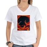 Sensual Ecstasy Women's V-Neck T-Shirt