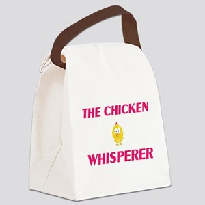 The Chicken Whisperer Canvas Lunch Bag