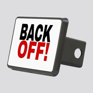 BACK OFF! Rectangular Hitch Cover