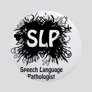 SLP Splash Round Ornament