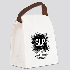 SLP Splash - Black Canvas Lunch Bag