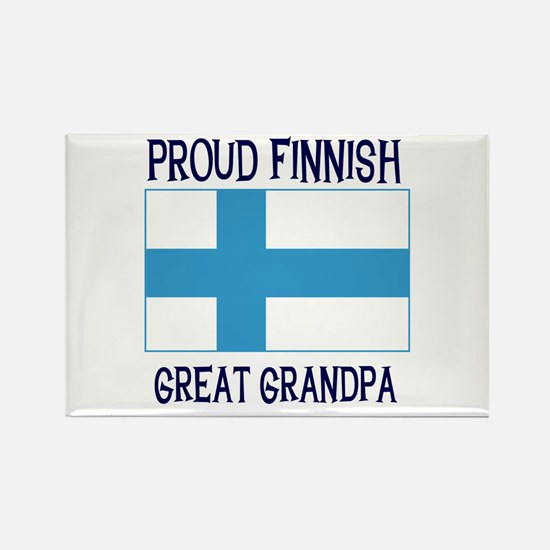 Finnish Great Grandpa Rectangle Magnet