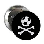 Bloody Football Hooligan Button