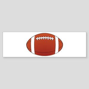 Football illustration Bumper Sticker