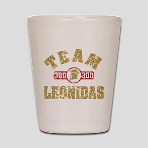 300 Team Leonidas Shot Glass