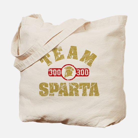 300 Team Sparta Tote Bag