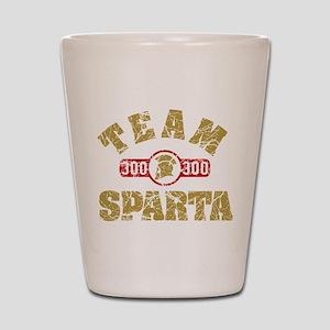 300 Team Sparta Shot Glass