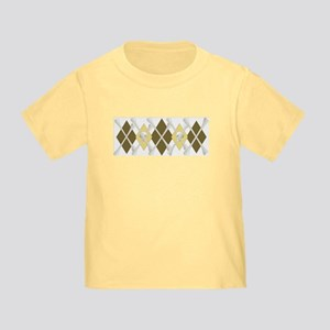 Argyle Jolly Roger, Coffee Colors Toddler T
