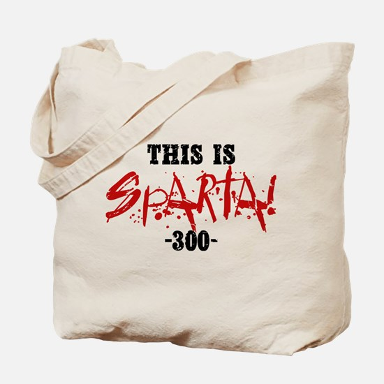 300 This Is Sparta Tote Bag