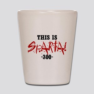 300 This Is Sparta Shot Glass