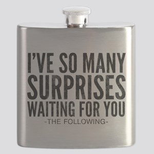 The Following Surprises Quote Flask
