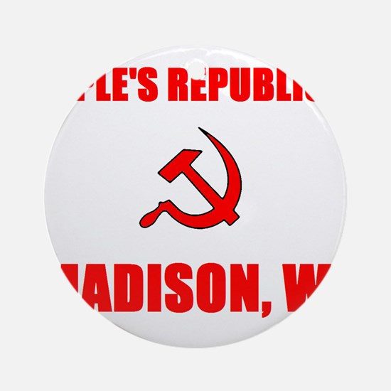 People's Republic of Madison, Ornament (Round)