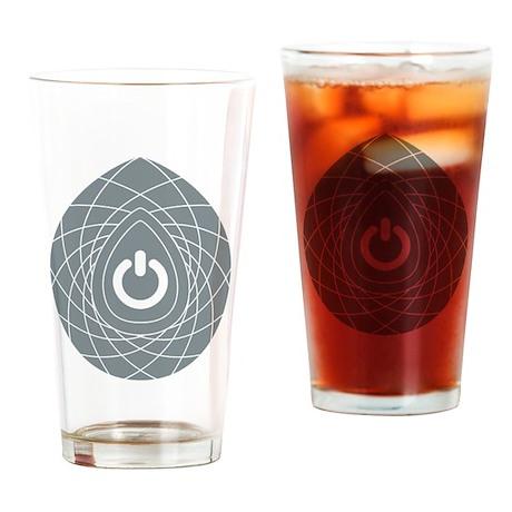 Revolution Power Pendant Graphic Drinking Glass