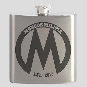 Monroe Militia M Revolution Flask