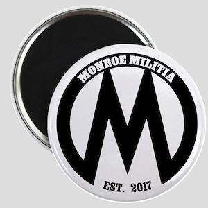 Monroe Militia M Revolution Magnets