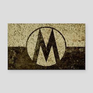 Monroe Republic Flag Revolution Rectangle Car Magn