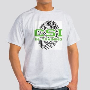 CSI In Training Ash Grey T-Shirt