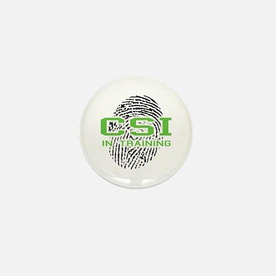 CSI In Training Mini Button