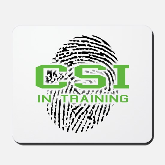 CSI In Training Mousepad