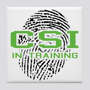 CSI In Training Tile Coaster
