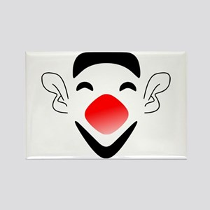Big Red Nose Clown Face Magnets