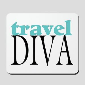 Travel Diva Mousepad