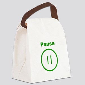 Pause Canvas Lunch Bag