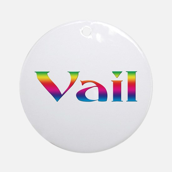 Vail Ornament (Round)