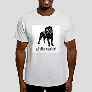 Affenpinscher Ash Grey T-Shirt